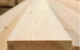 Доска строганная с четырех сторон из сосны