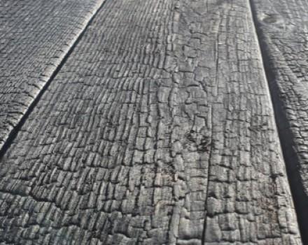 Планкен скошенный (ромбус) из лиственницы сибирской Deep Carbon