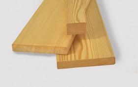 Планкен прямой из лиственницы сибирской