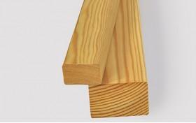 Рейка фасадная/конструкционная из лиственницы сибирской