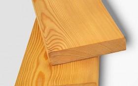 Доска террасная гладкая из лиственницы для дорожек
