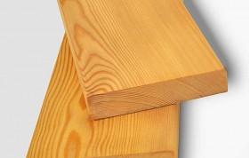 Террасная доска гладкая (палубная) из лиственницы