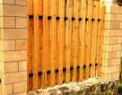 Штакетник из доски обрезной из лиственницы естественной влажности